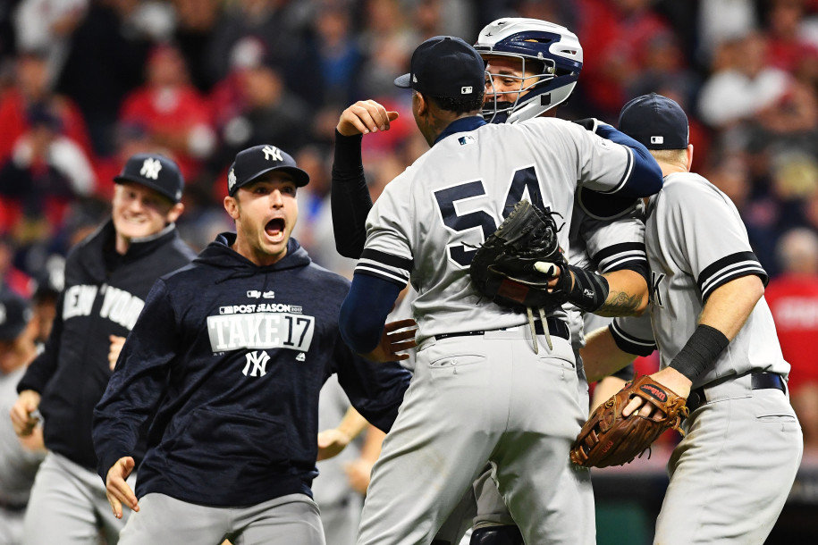 Yankees Win ALDS vs Indians, Will Play Houston in ALCS