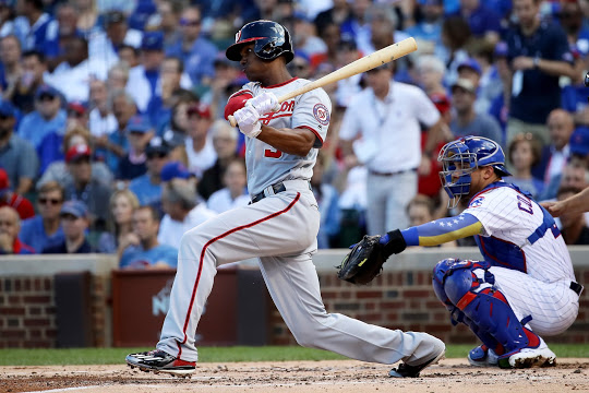 Michael A. Taylor hits grand slam in 8th to give Nats commanding lead in NLDS Game 4.