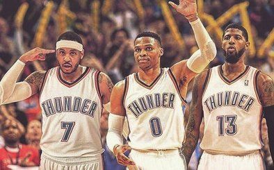 Carmelo Anthony Traded To OKC - Will Join Paul George and Russell Westbrook