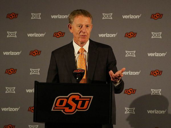 Oklahoma State Athletic Director Mike Holder released a statement Wednesday about the nationwide college basketball scandal