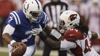 Colts Jacoby Brissett Tries to Break Free