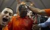 Syracuse Orange Dino Babers Celebrates Upset Win Over Clemson Tigers